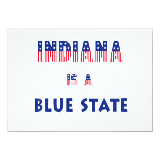 Indiana is a Blue State Card