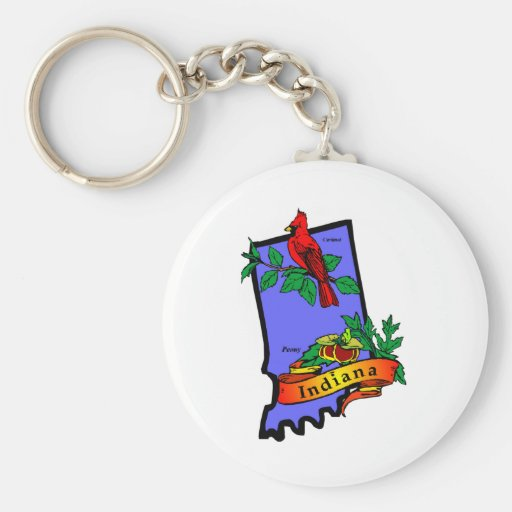 Indiana Key Chains