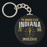 "Indiana Keychain<br><div class=""desc"">Indiana</div>"