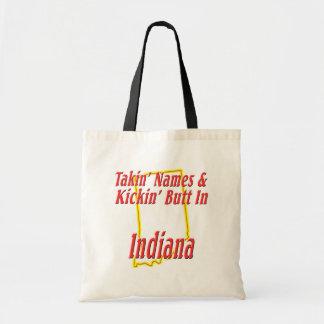 Indiana - Kickin' Butt Budget Tote Bag