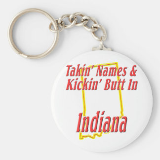 Indiana - Kickin' Butt Keychain