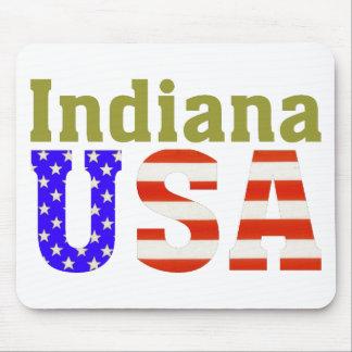 ¡Indiana los E.E.U.U.! Alfombrilla De Raton