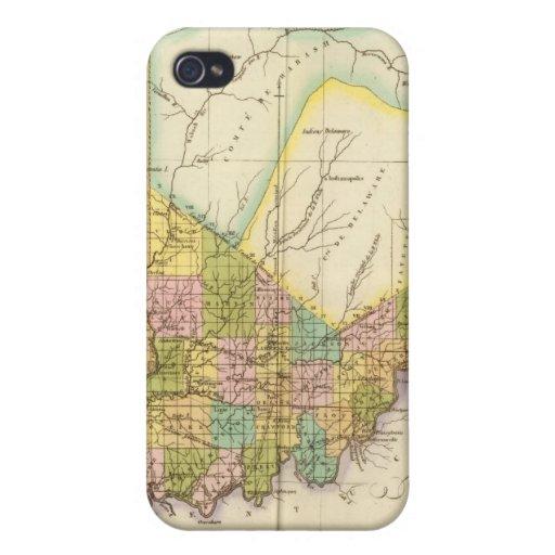 Indiana los E.E.U.U. iPhone 4/4S Carcasa