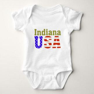 ¡Indiana los E.E.U.U.! Mameluco De Bebé