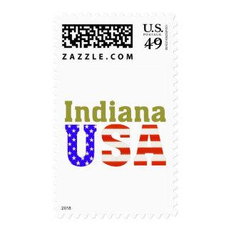 ¡Indiana los E.E.U.U.! Sello