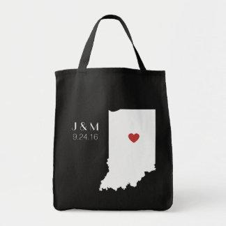 Indiana Love - Customizable Tote Bag