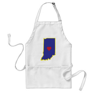 Indiana Luv Adult Apron