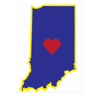 Indiana Luv Postcard