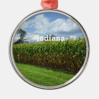 Indiana Metal Ornament