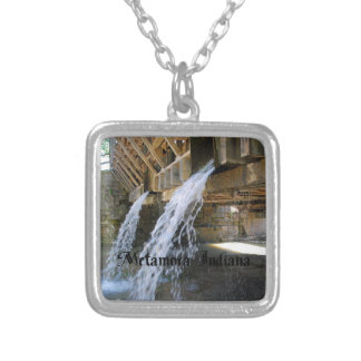 Indiana Square Pendant Necklace