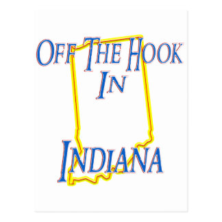 Indiana - Off The Hook Postcard