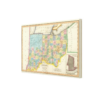 Indiana, Ohio Canvas Print