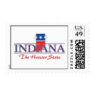 Indiana Patriotic Postage