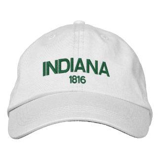 Indiana personalizó el gorra ajustable gorra bordada