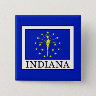 Indiana Pinback Button