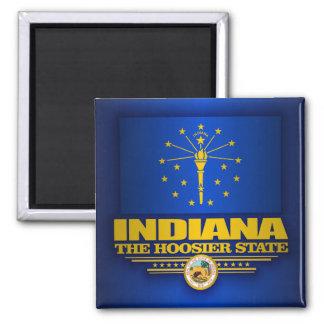 Indiana Pride 2 Inch Square Magnet