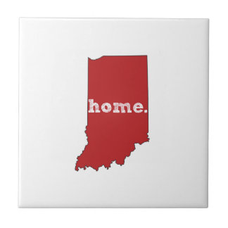 INDIANA PROUD SMALL SQUARE TILE