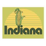 Indiana retra tarjetas postales