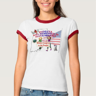 Indiana - Return Congress to the People! T Shirt