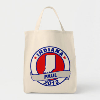 Indiana Ron Paul Tote Bags