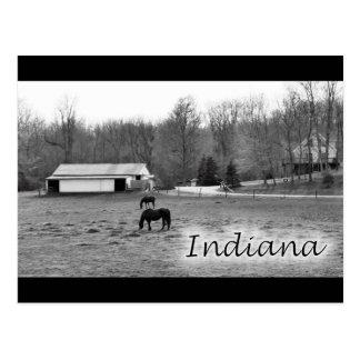 Indiana rural tarjeta postal