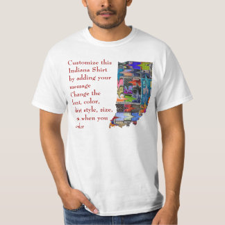 Indiana Shirt - Custom with Election or other text
