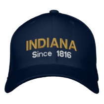 Indiana Since 1816 Cap