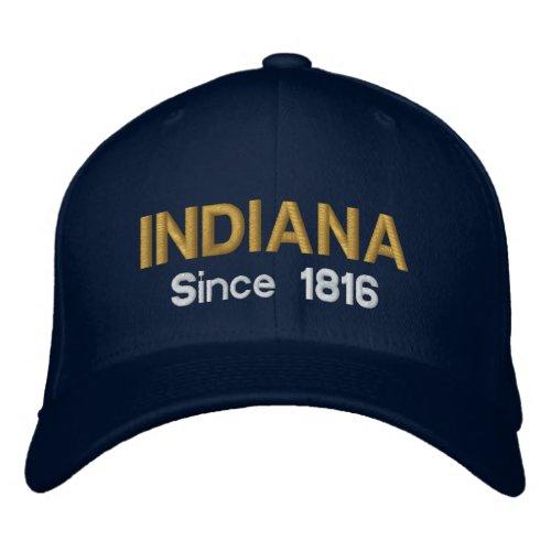 Indiana Since 1816 Cap