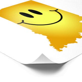 Indiana Smiley Face Photo Print