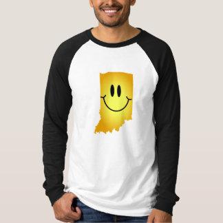 Indiana Smiley Face Tee Shirt
