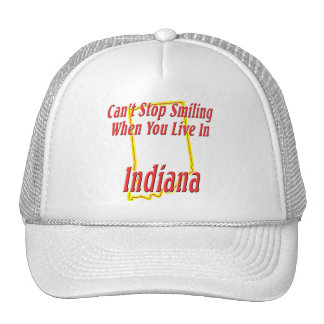 Indiana - Smiling Trucker Hat