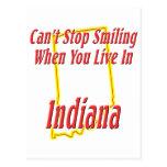 Indiana - sonriendo postales