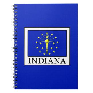 Indiana Spiral Notebook