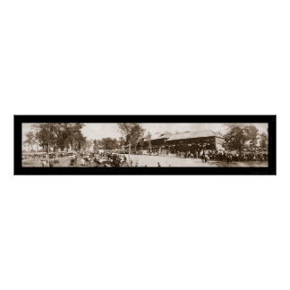 Indiana State Fair Photo 1907 Poster