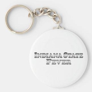 Indiana State Fever - Basic Keychain