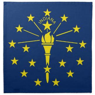 Indiana State Flag American MoJo Napkin