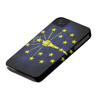 Indiana state flag Case-Mate iPhone 4 cases