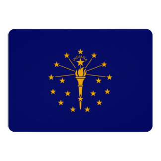 Indiana State Flag Design Card