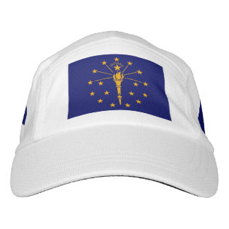 Indiana State Flag Design Headsweats Hat