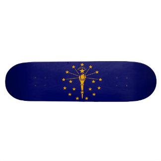 Indiana State Flag Design Skateboard