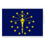 Indiana State Flag Greeting Cards