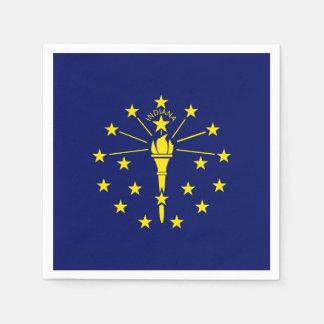Indiana State Flag Paper Napkin