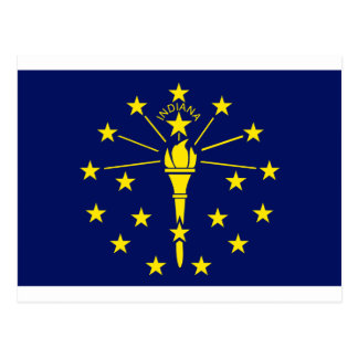 Indiana State Flag Postcard