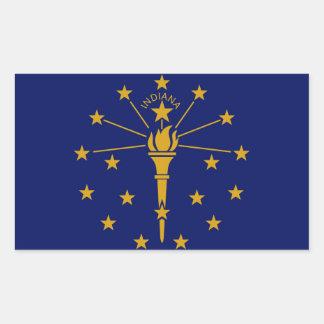 Indiana State flag Sticker
