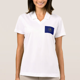 Indiana State Flag Polos