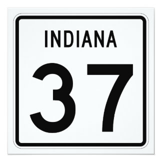 Indiana State Road 37 Card