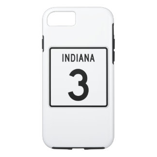 Indiana State Road 3 iPhone 8/7 Case