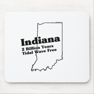 Indiana State Slogan Mouse Pads