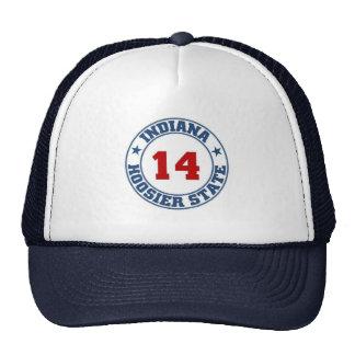 Indiana State Trucker Hat