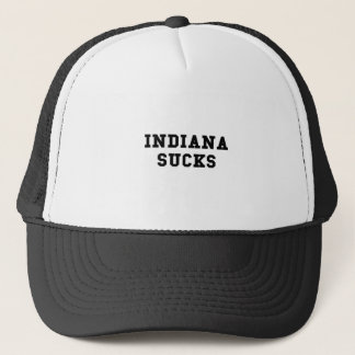 Indiana Sucks Trucker Hat